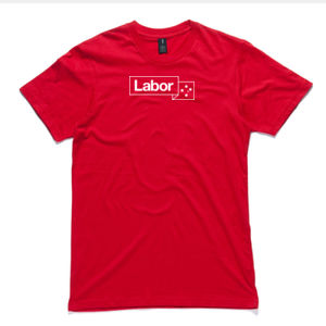 Labor Red Tee - Unisex Thumbnail