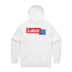 Little Labor White Hoodie - Unisex Thumbnail