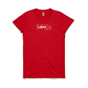 Labor Red Tee - Womens Thumbnail