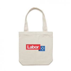 Labor Eco Friendly Canvas Tote Bag Thumbnail